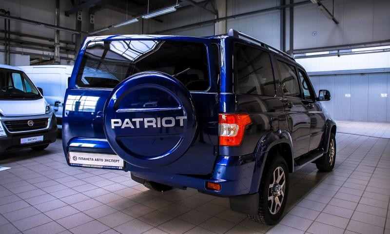 УАЗ Patriot 2.7 MT 4х4 (149,6 л.с.) Максимум 485-03